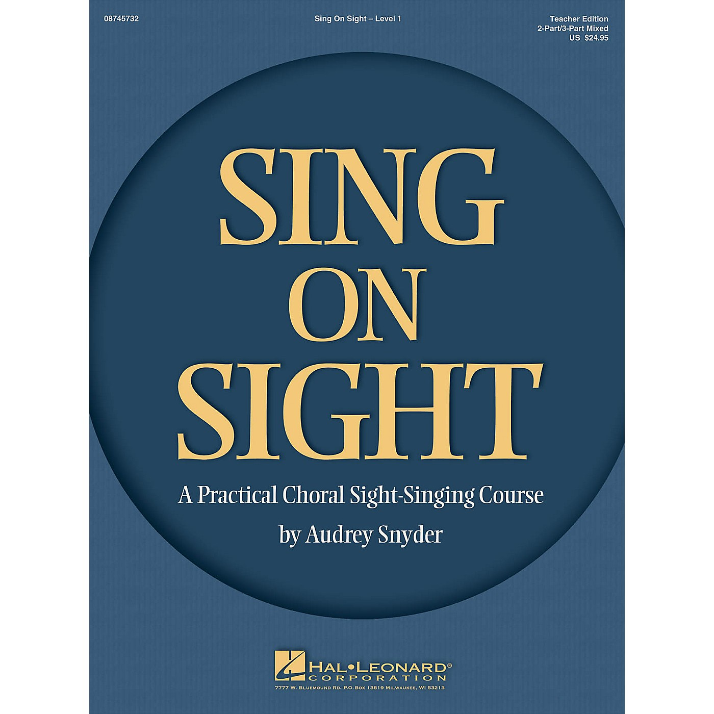 Hal Leonard Sing on Sight (A Practical Choral Sight-Singing Course) 2/3 Part Mixed Teacher Edition thumbnail