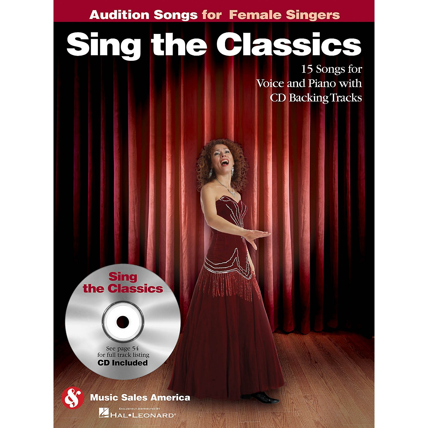 Music Sales Sing the Classics (Audition Songs for Female Singers) Audition Songs Series Softcover with CD by Various thumbnail