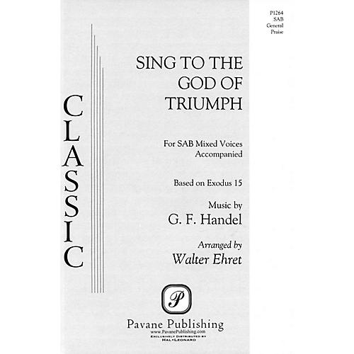 Pavane Sing to the God of Triumph SAB arranged by Walter Ehret thumbnail