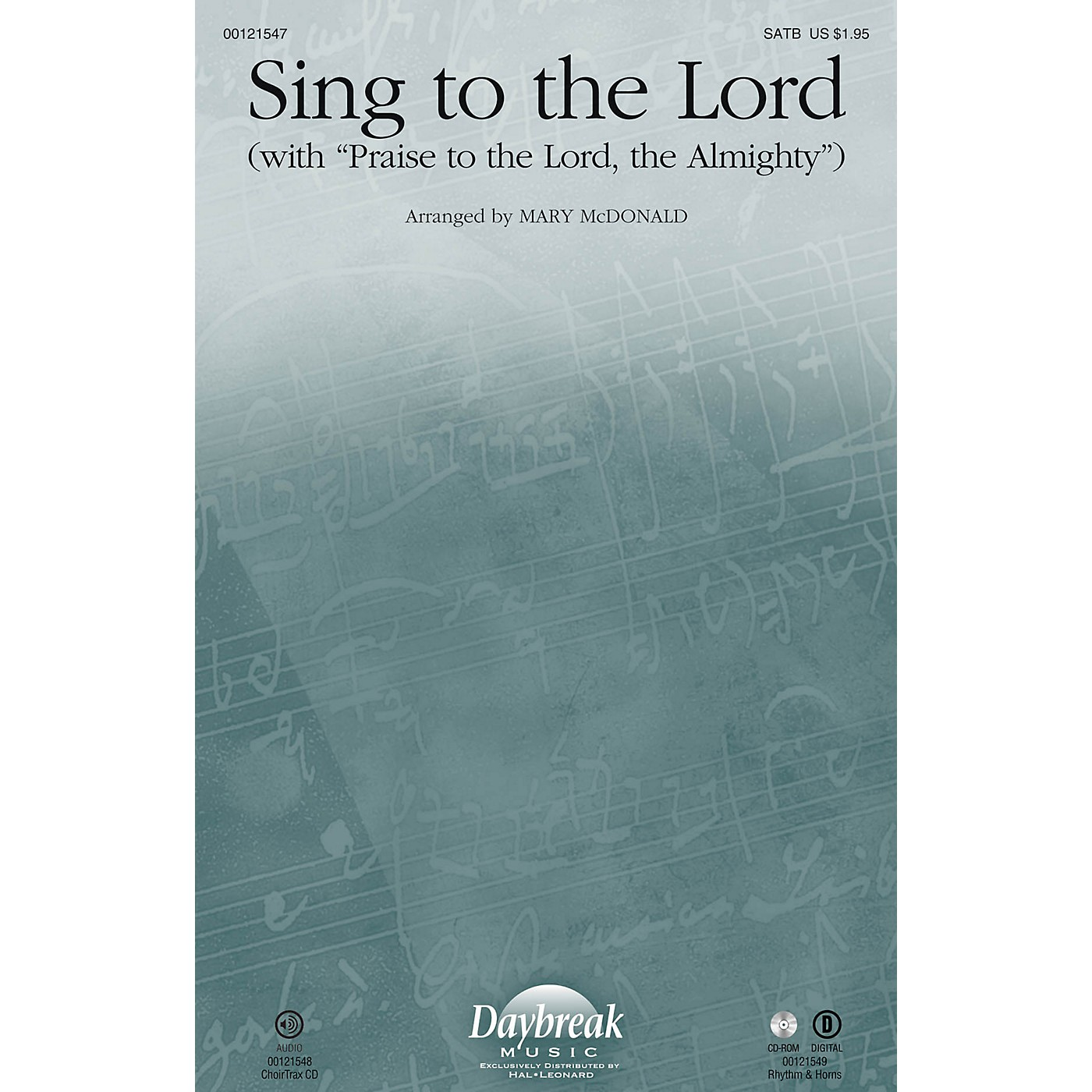 Daybreak Music Sing to the Lord RHYTHM/HORN SECTION by Sandi Patty Arranged by Mary McDonald thumbnail