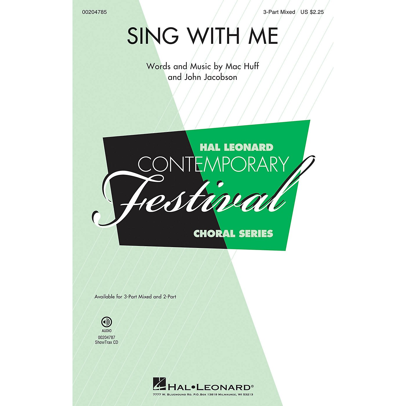 Hal Leonard Sing with Me 2-Part Composed by Mac Huff thumbnail