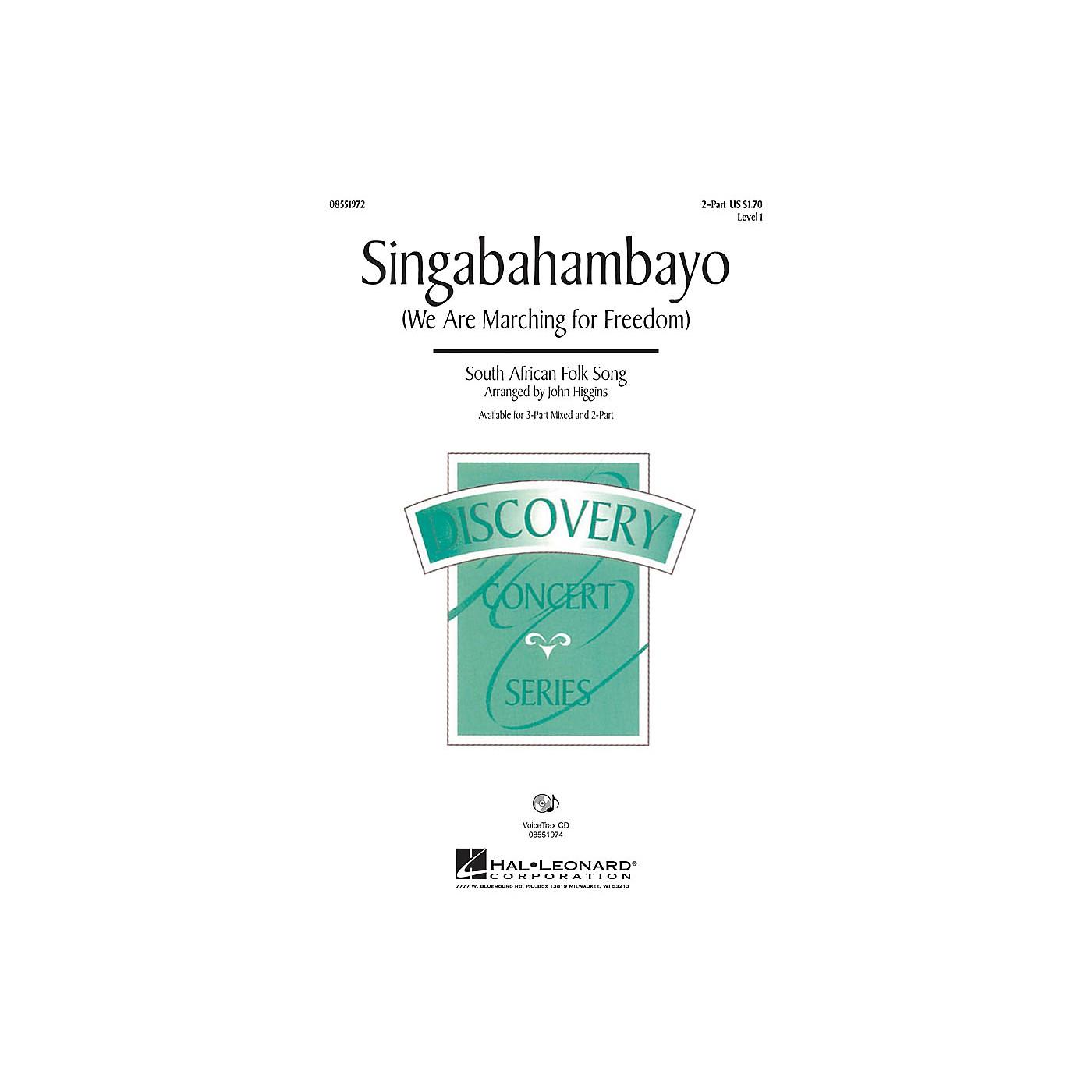 Hal Leonard Singabahambayo (We Are Marching for Freedom) 3-Part Mixed Arranged by John Higgins thumbnail