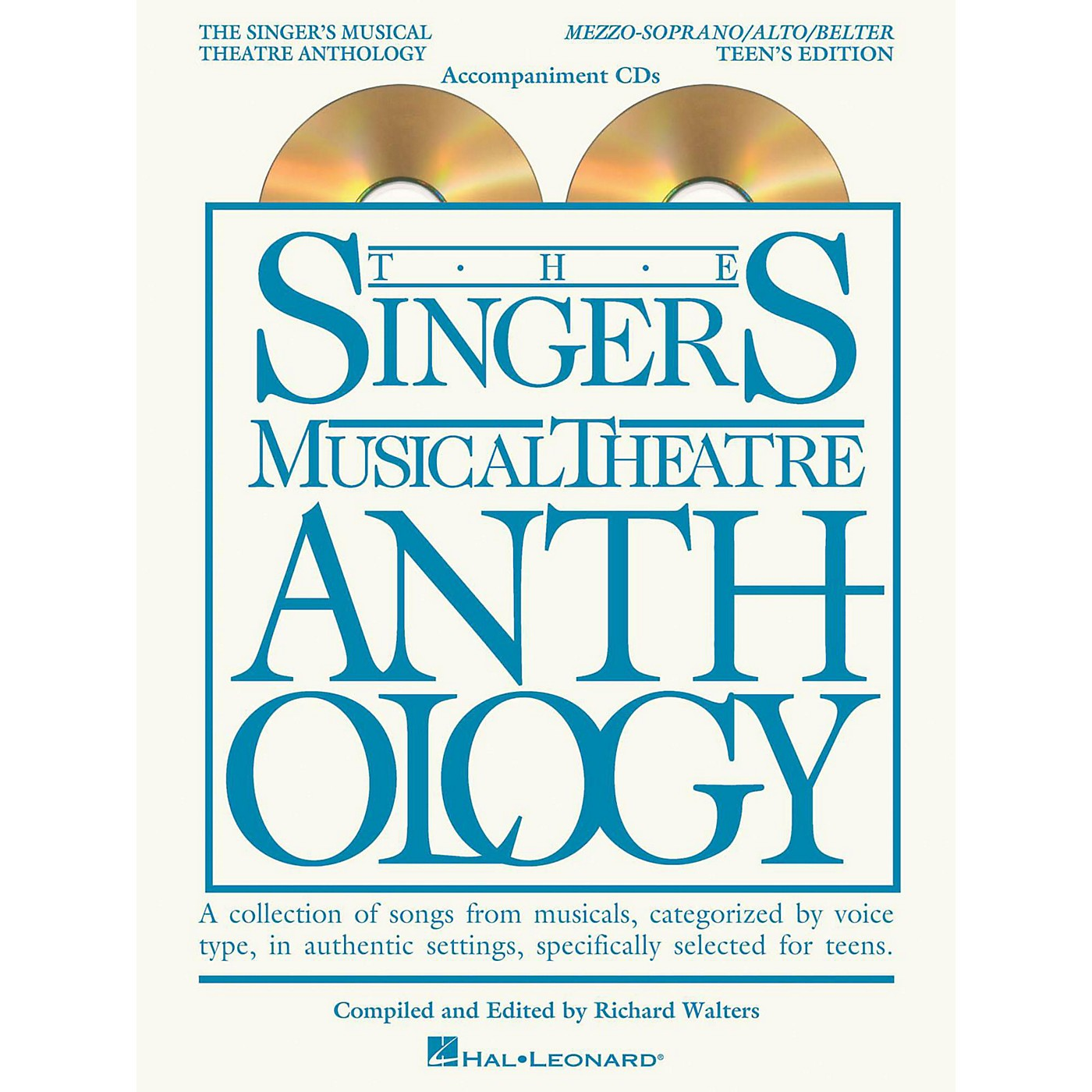 Hal Leonard Singer's Musical Theatre Anthology Teen's Edition Mezzo/Alto/Belter CD's Only thumbnail