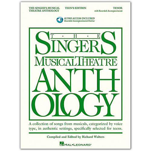 Hal Leonard Singer's Musical Theatre Anthology Teen's Edition Tenor Book/Online Audio thumbnail