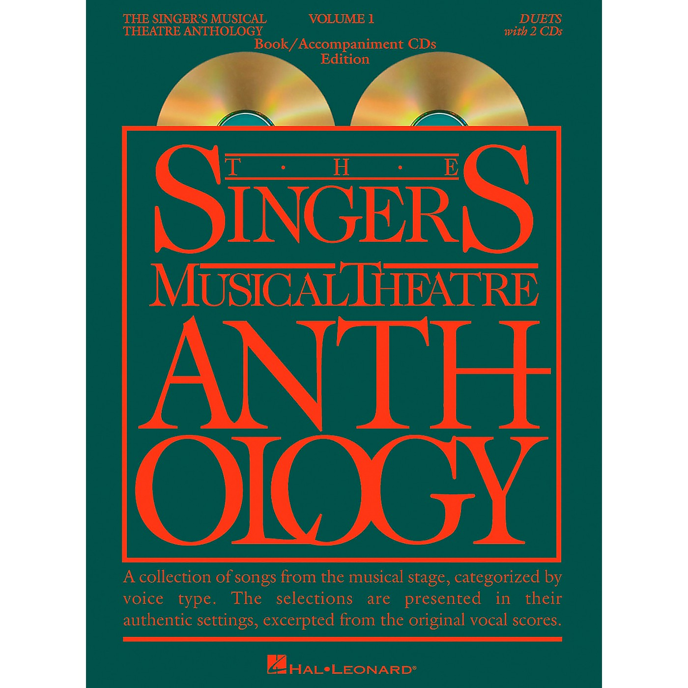 Hal Leonard Singer's Musical Theatre Anthology Volume 1 Duets Book / 2CD's thumbnail