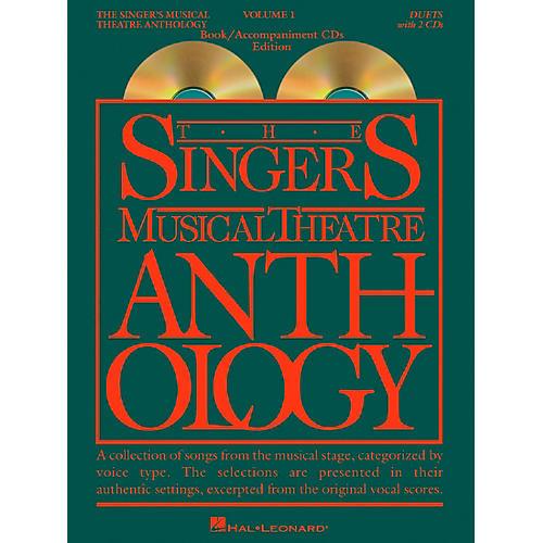 Hal Leonard Singer's Musical Theatre Anthology Volume 1 Duets Book / 2CD's thumbnail