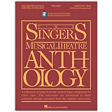 Hal Leonard Singer's Musical Theatre Anthology for Baritone / Bass Vol 5 Book/Online Audio