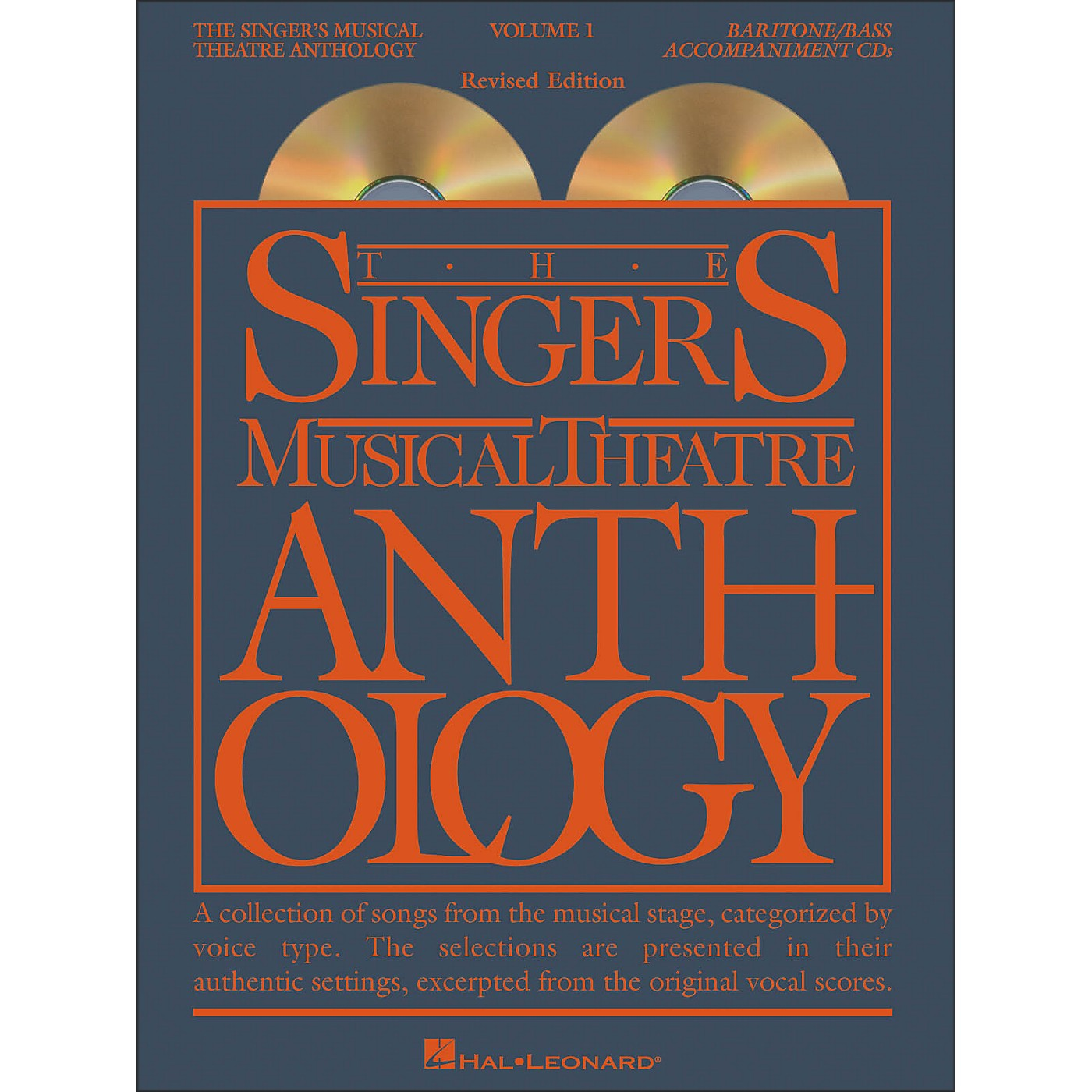 Hal Leonard Singer's Musical Theatre Anthology for Baritone / Bass Volume 1 2CD's thumbnail