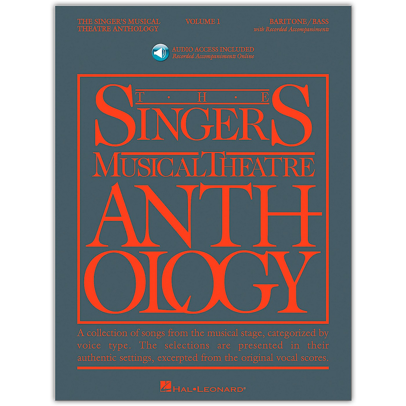 Hal Leonard Singer's Musical Theatre Anthology for Baritone / Bass Volume 1 Book/Online Audio thumbnail