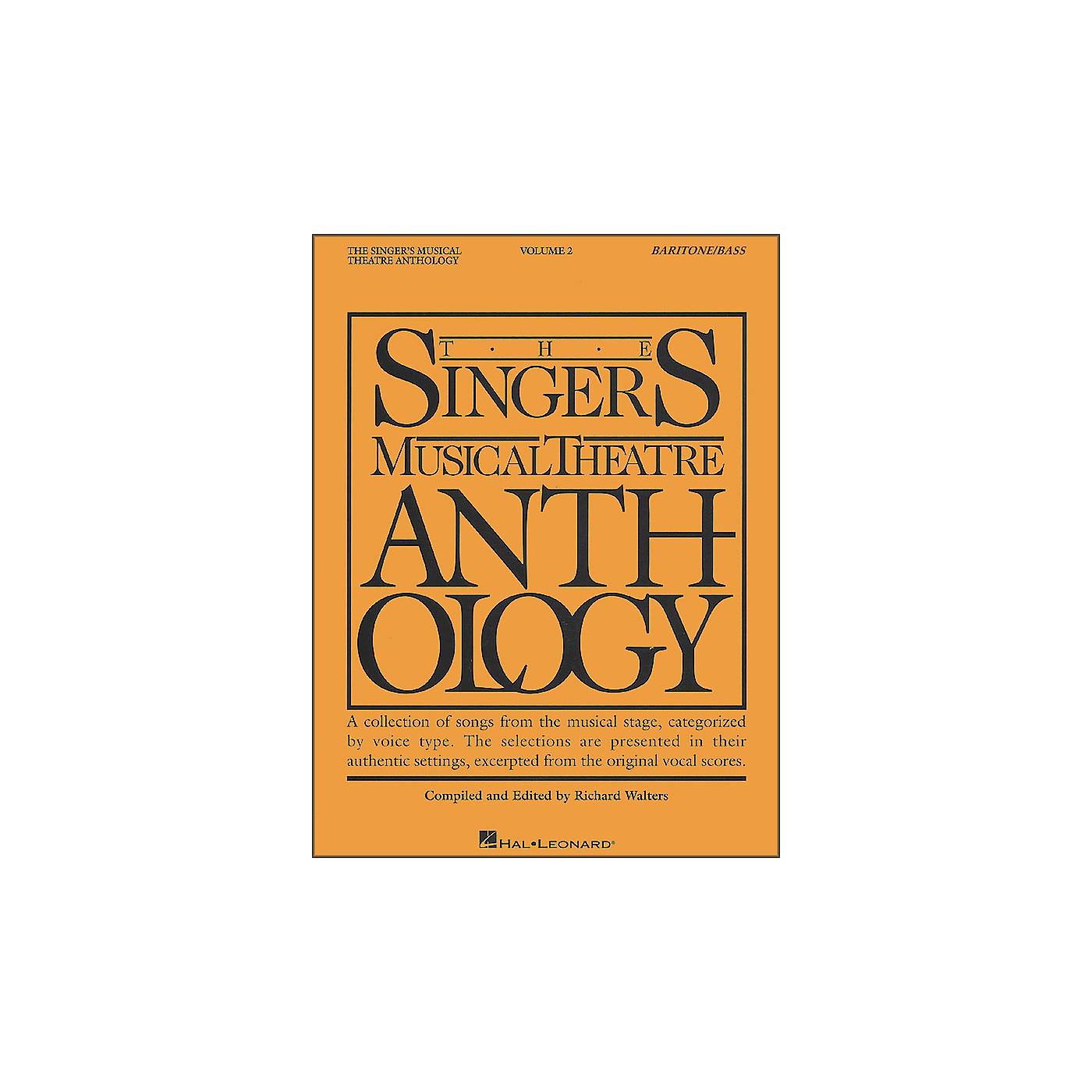 Hal Leonard Singer's Musical Theatre Anthology for Baritone / Bass Volume 2 thumbnail