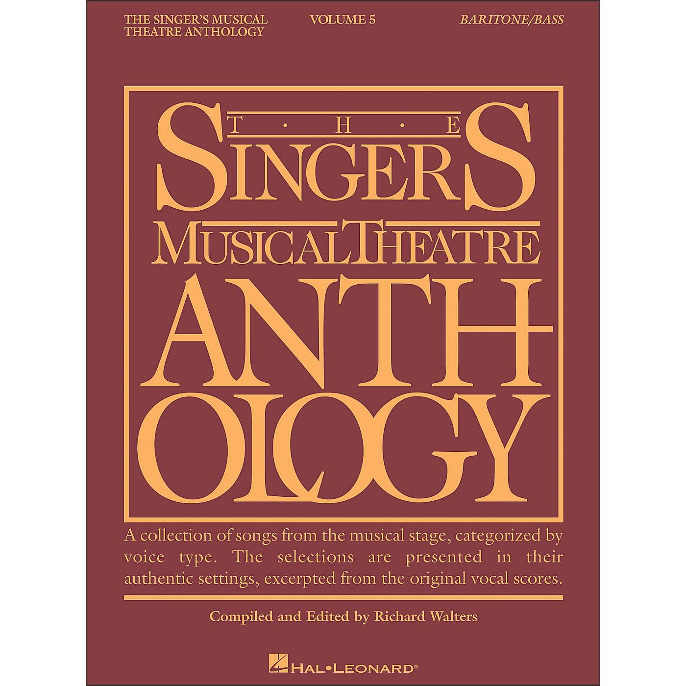 Hal Leonard Singer's Musical Theatre Anthology for Baritone / Bass Volume 5 thumbnail