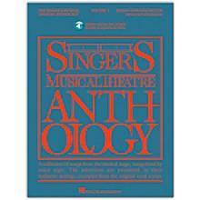 Hal Leonard Singer's Musical Theatre Anthology for Mezzo-Soprano / Belter Volume 1 Book/Online Audio