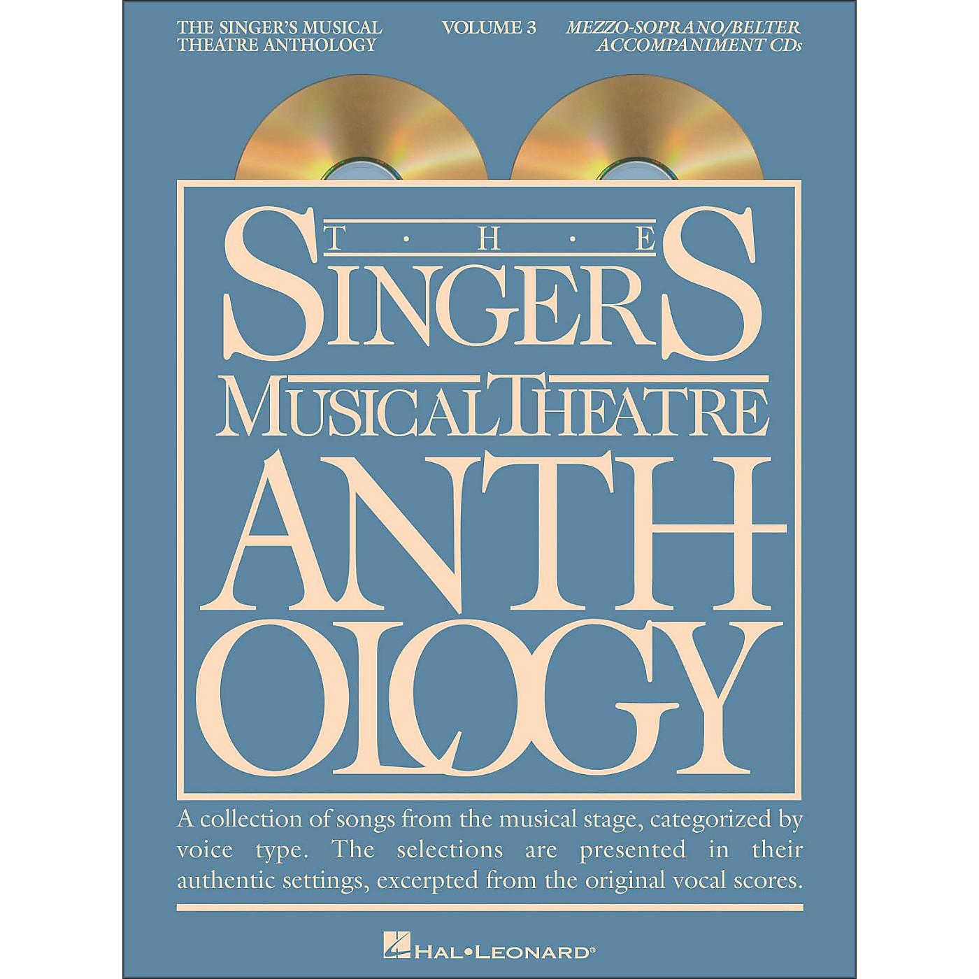 Hal Leonard Singer's Musical Theatre Anthology for Mezzo-Soprano / Belter Volume 3 2CD's Accompaniment thumbnail