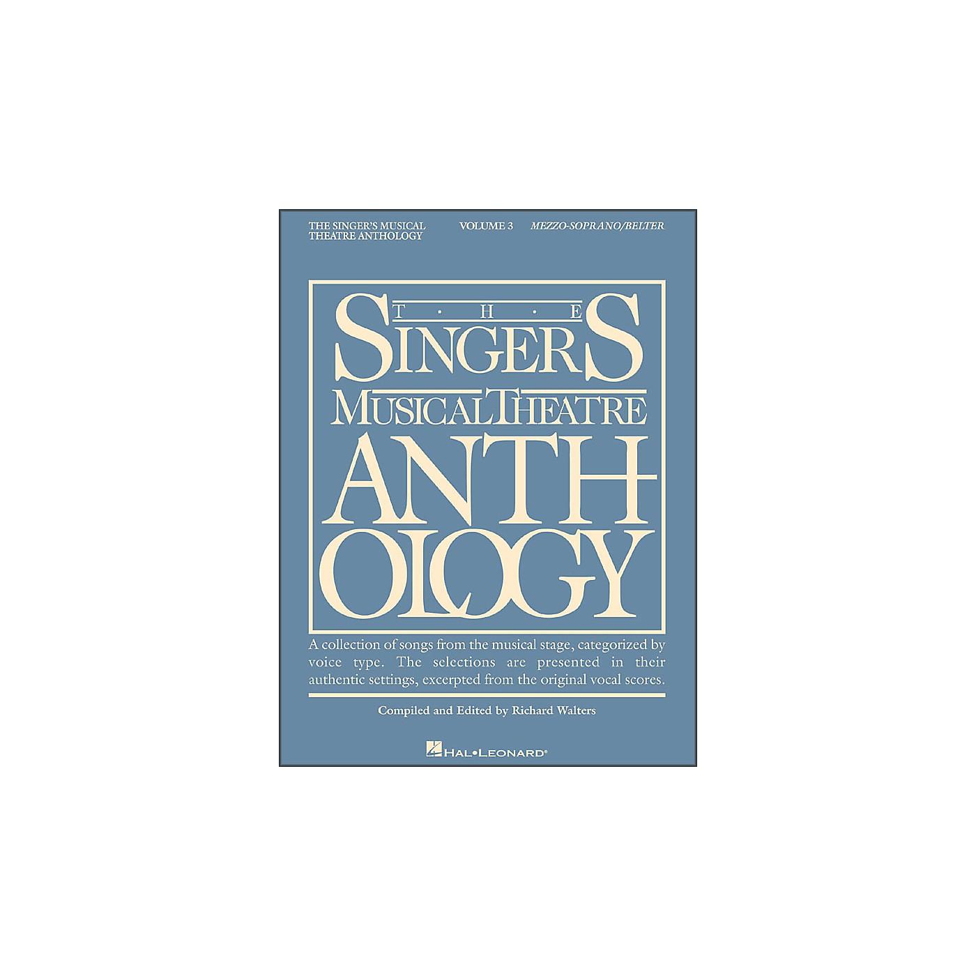 Hal Leonard Singer's Musical Theatre Anthology for Mezzo-Soprano / Belter Volume 3 thumbnail
