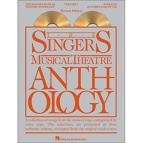 Hal Leonard Singer's Musical Theatre Anthology for Soprano Voice Volume 1 2CD Accompaniment thumbnail