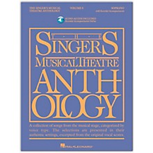 Hal Leonard Singer's Musical Theatre Anthology for Soprano Vol 5 Book/Online Audio