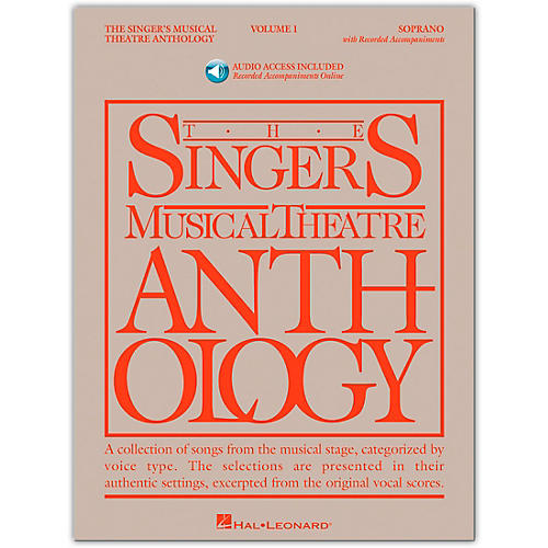 Hal Leonard Singer's Musical Theatre Anthology for Soprano Volume 1 Book/Online Audio thumbnail