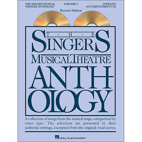 Hal Leonard Singer's Musical Theatre Anthology for Soprano Volume 2 2CD's Accompaniment thumbnail