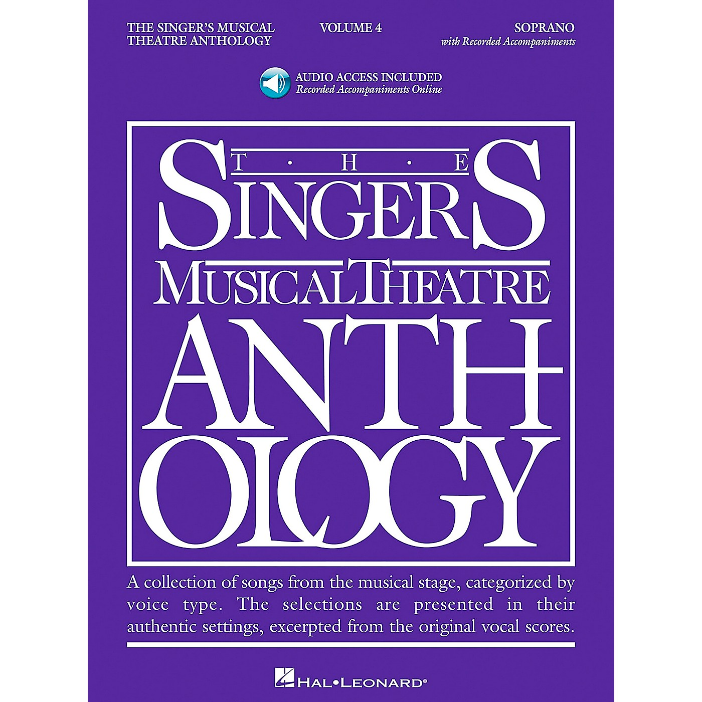 Hal Leonard Singer's Musical Theatre Anthology for Soprano Volume 4 Book/2CD's thumbnail