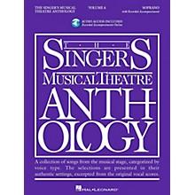 Hal Leonard Singer's Musical Theatre Anthology for Soprano Volume 4 Book/2CD's