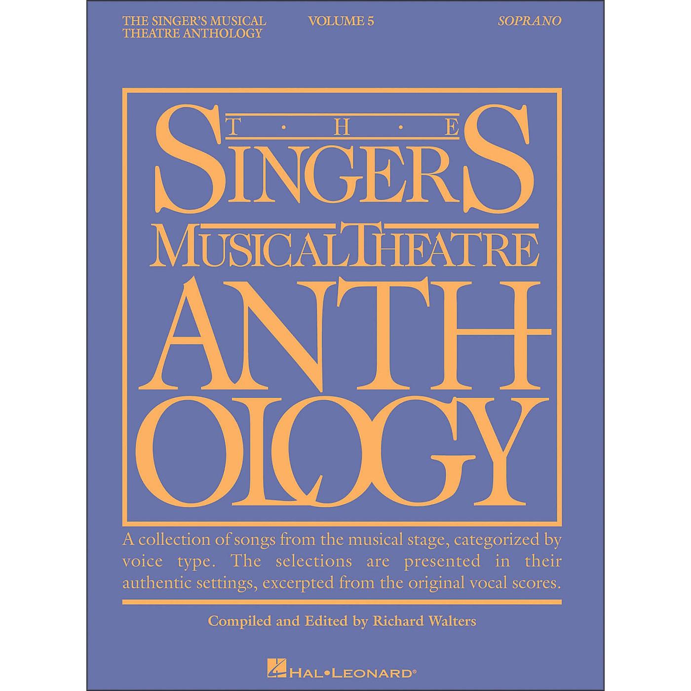 Hal Leonard Singer's Musical Theatre Anthology for Soprano Volume 5 thumbnail