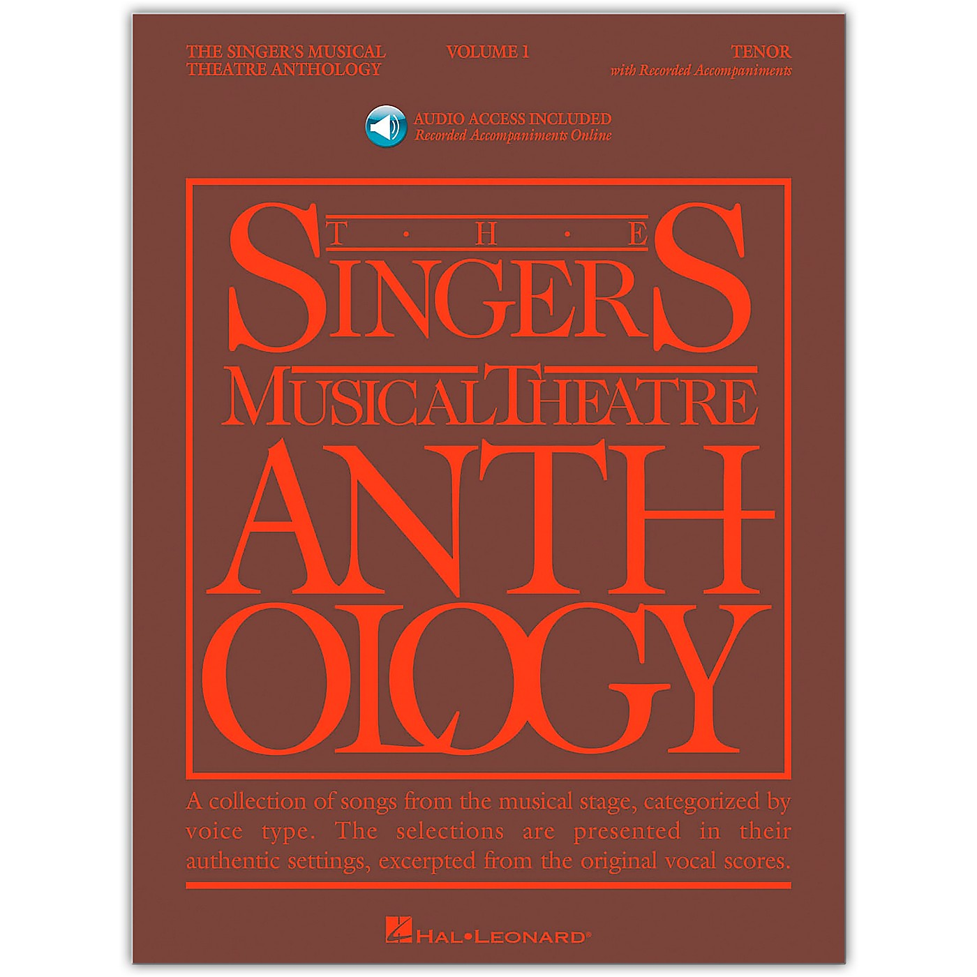 Hal Leonard Singer's Musical Theatre Anthology for Tenor Voice Volume 1 Book/Online Audio thumbnail