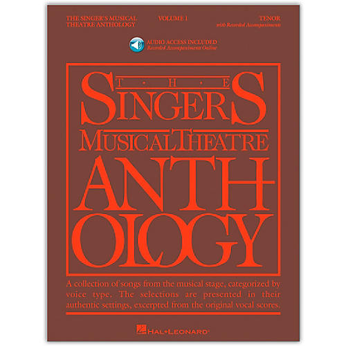 Hal Leonard Singer's Musical Theatre Anthology for Tenor Voice Volume 1 Book/Online Audio thumbnail