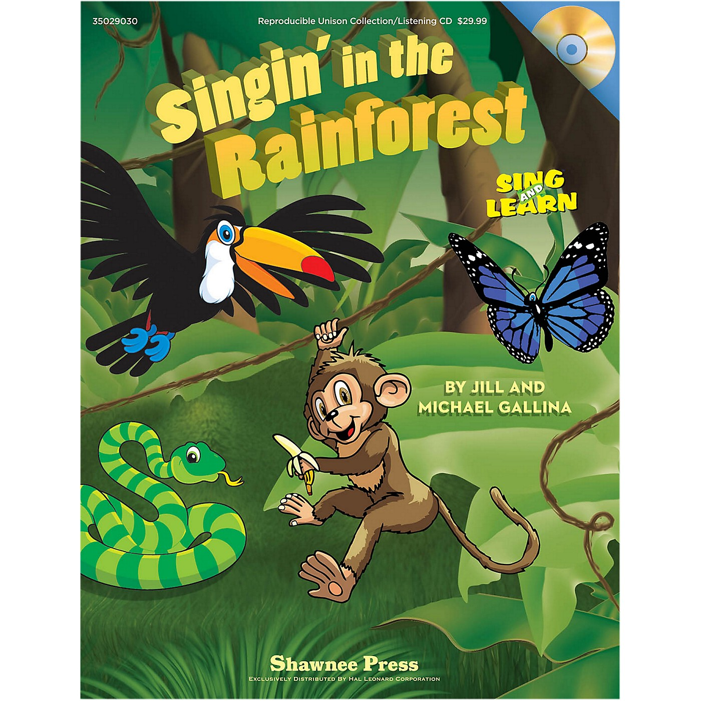 Hal Leonard Singin' In The Rainforest Book/Listening CD thumbnail