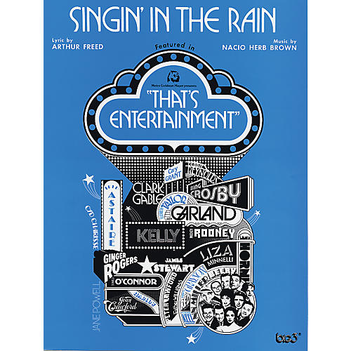 Alfred Singin' in the Rain Piano/Vocal/Chords thumbnail