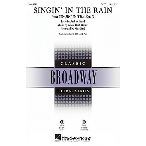 Hal Leonard Singin' in the Rain SATB arranged by Mac Huff thumbnail