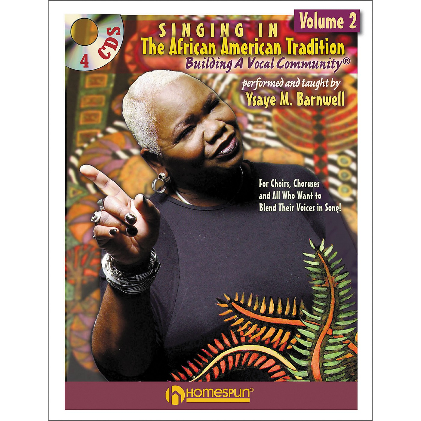 Homespun Singing In The African American Tradition Volume 2 (Book/CD Package) thumbnail