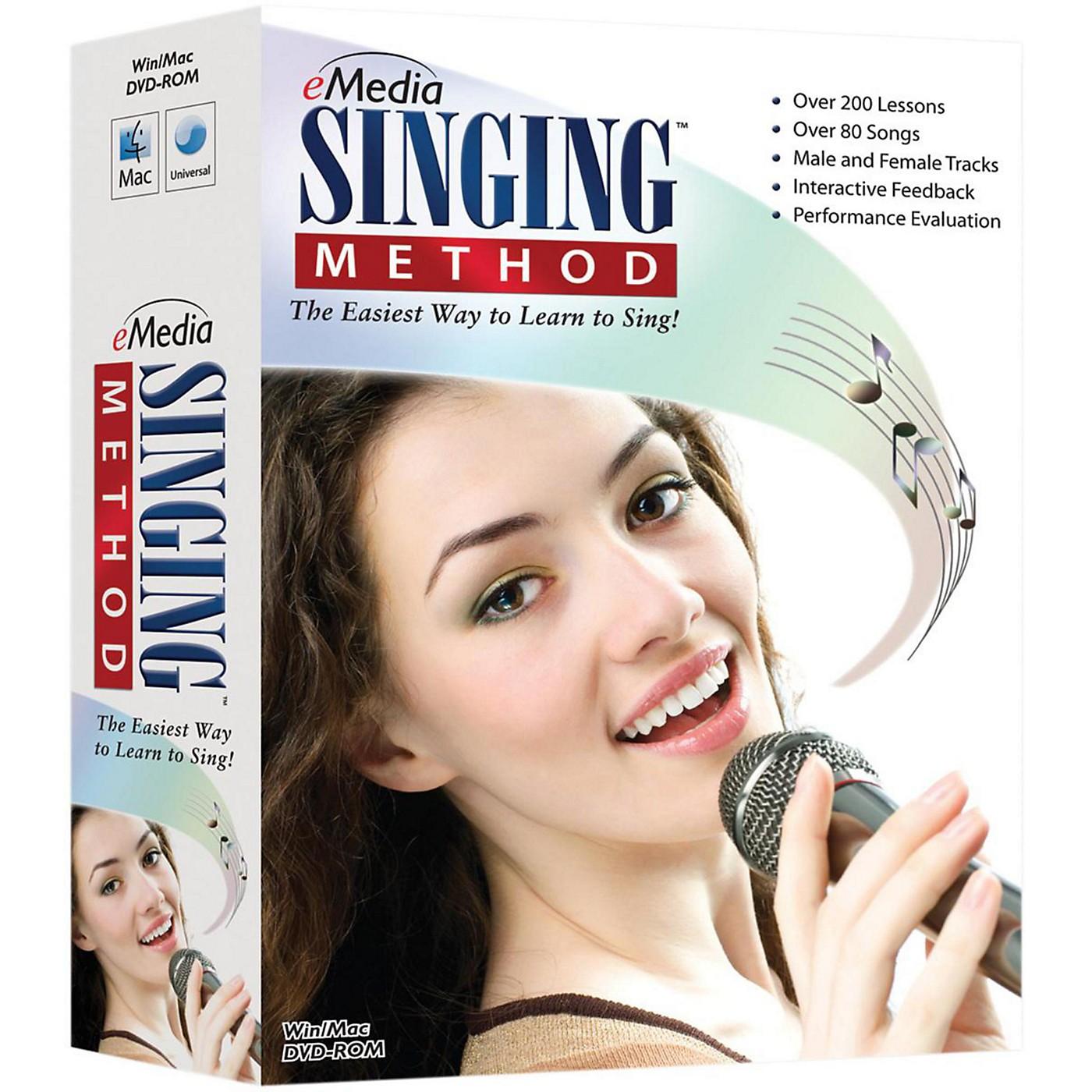 eMedia Singing Method DVD-ROM thumbnail