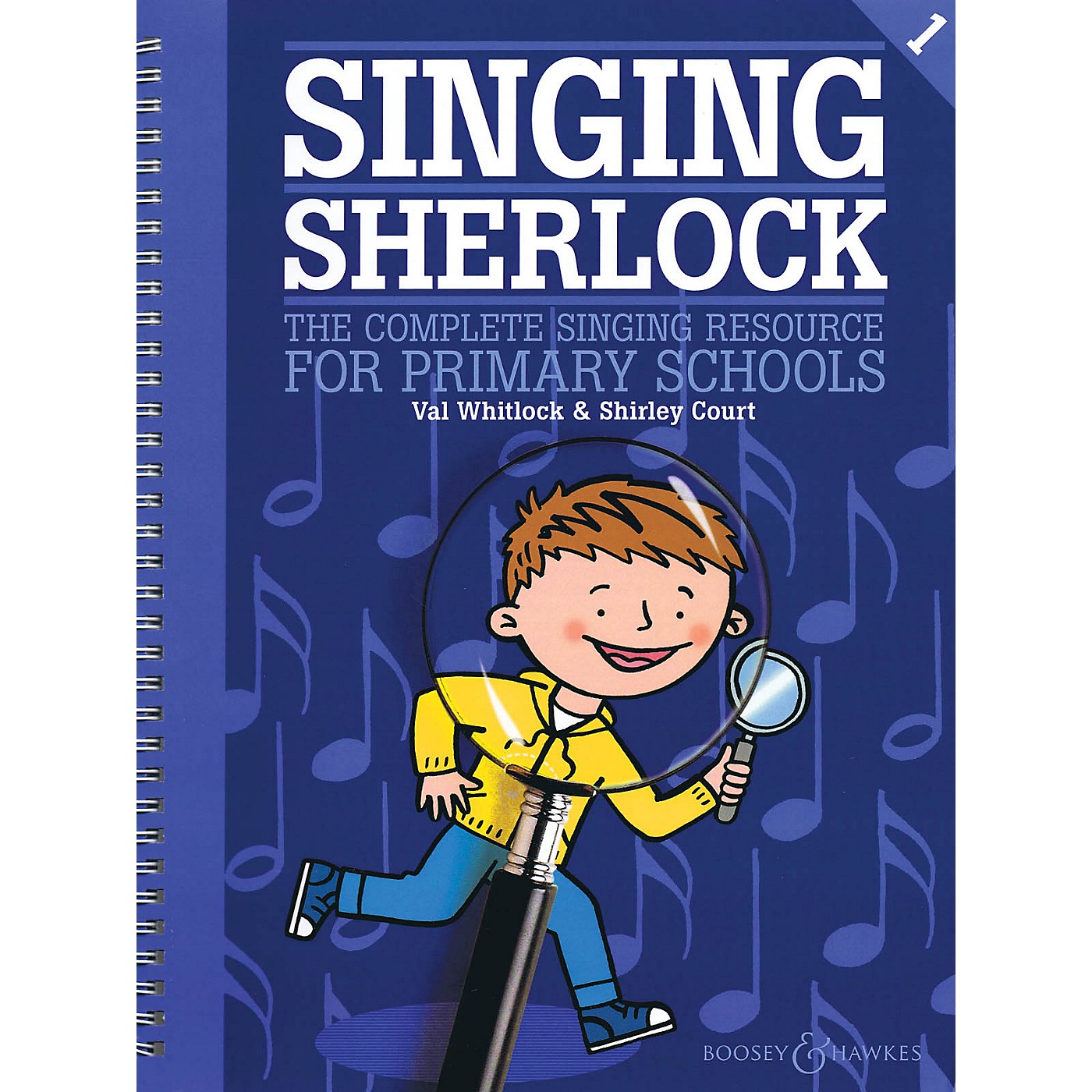 Boosey and Hawkes Singing Sherlock - Book 1 Book and CD pak Composed by Val Whitlock thumbnail