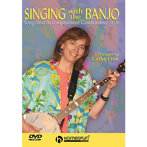 Homespun Singing with the Banjo (Songs and Accompaniment Clawhammer Style) Homespun Tapes Series DVD by Cathy Fink thumbnail