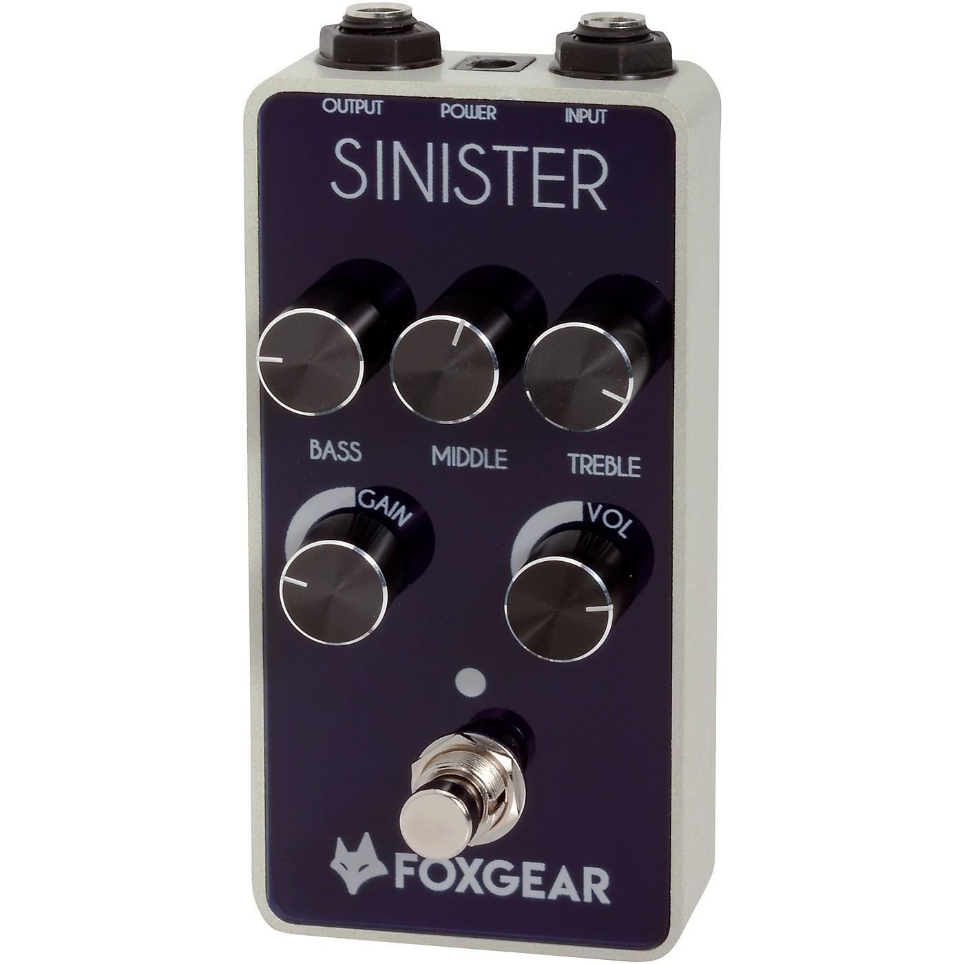 FoxGear Sinister FET Metal Distortion Effects Pedal thumbnail