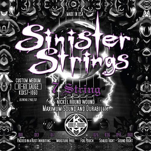 Kerly Music Sinister Strings NPS 7 String Custom Medium Electric Guitar Strings thumbnail