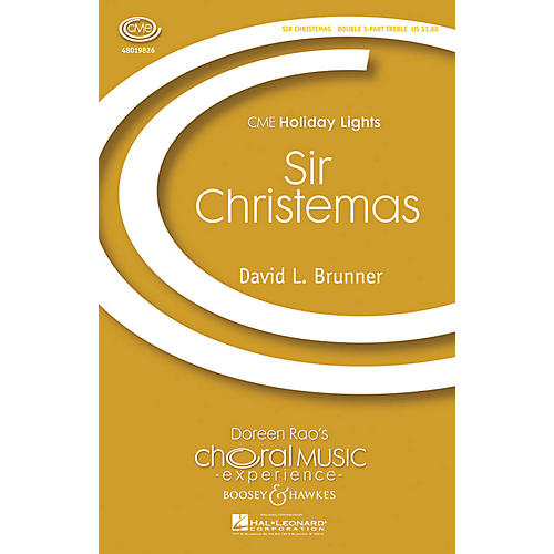 Boosey and Hawkes Sir Christemas (CME Holiday Lights) Score & Parts Composed by David L. Brunner thumbnail