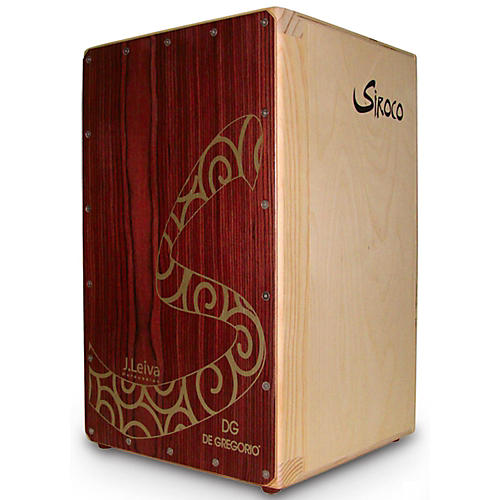 DG De Gregorio Siroco Folding Portable Cajon with Soft Travel Case thumbnail