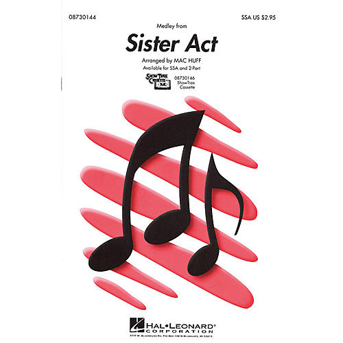 Hal Leonard Sister Act (Medley) 2-Part Arranged by Mac Huff thumbnail