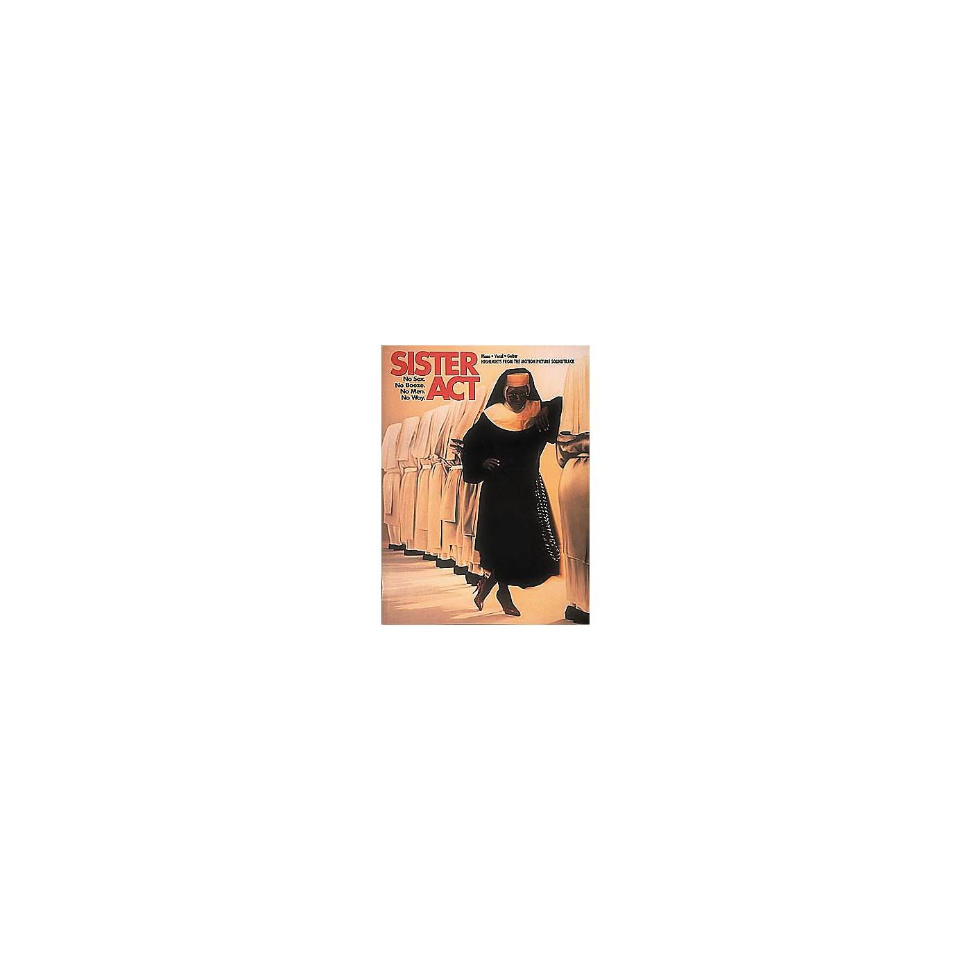 Hal Leonard Sister Act Piano, Vocal, Guitar Songbook thumbnail