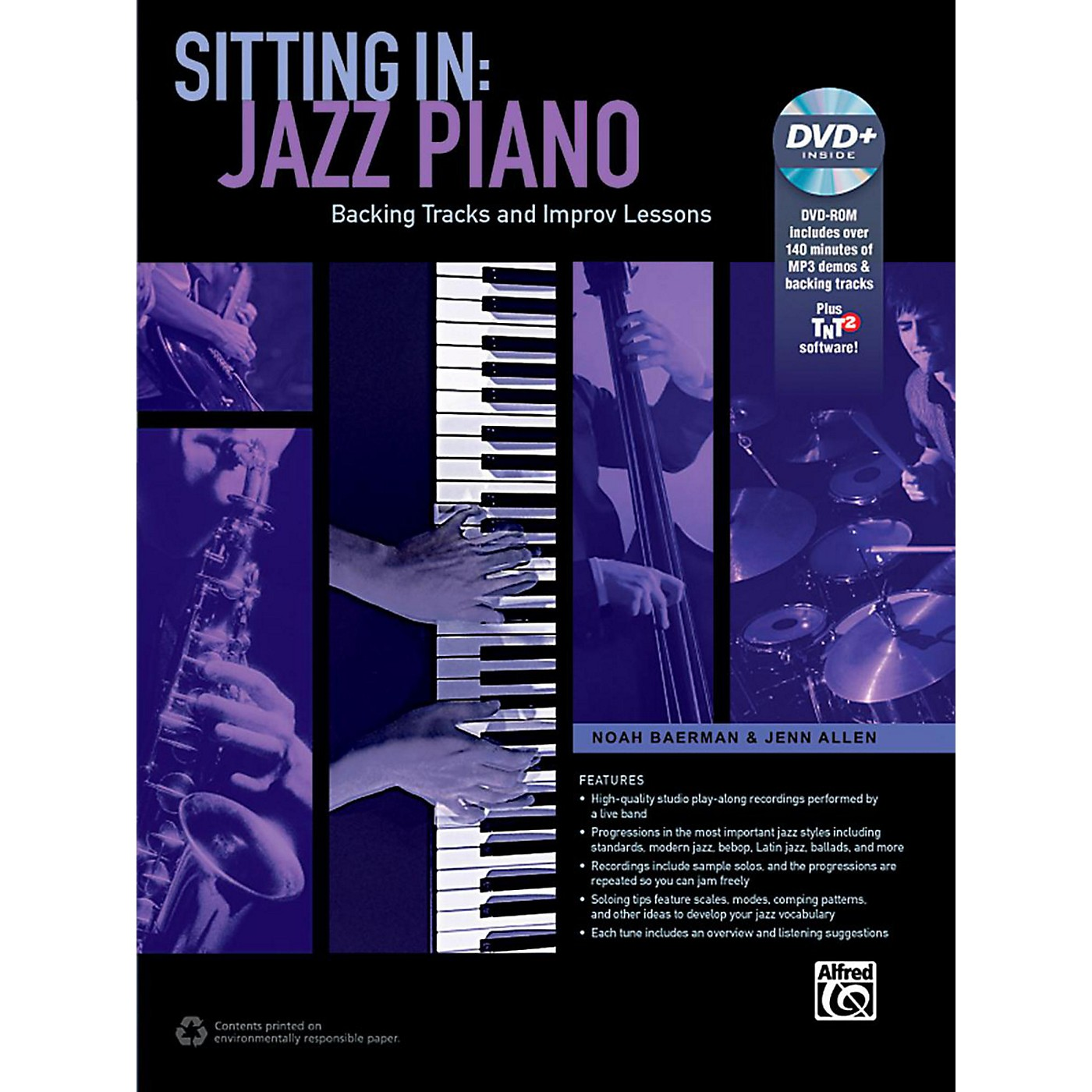 Alfred Sitting In: Jazz Piano Book & DVD-ROM thumbnail