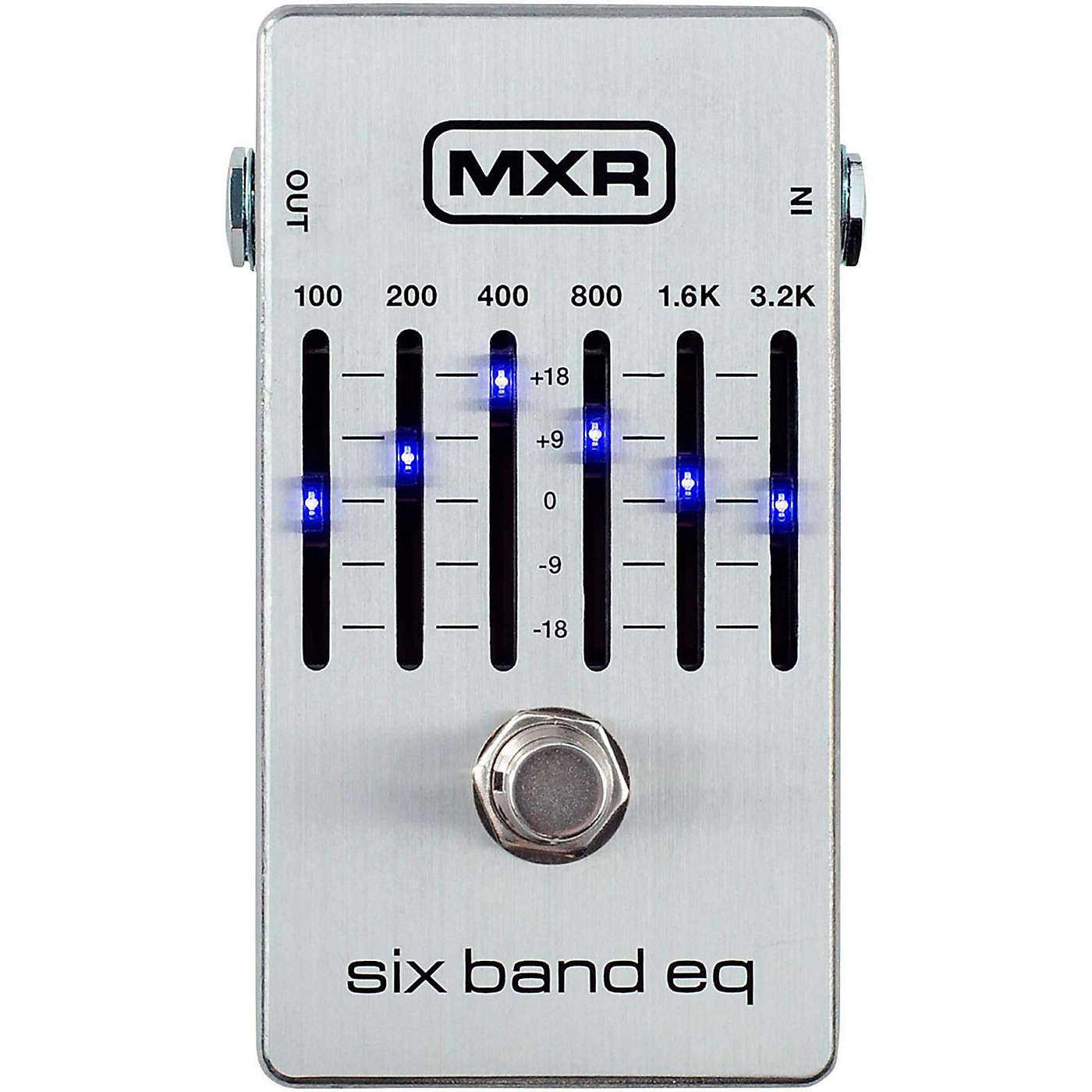 MXR Six Band EQ Pedal thumbnail