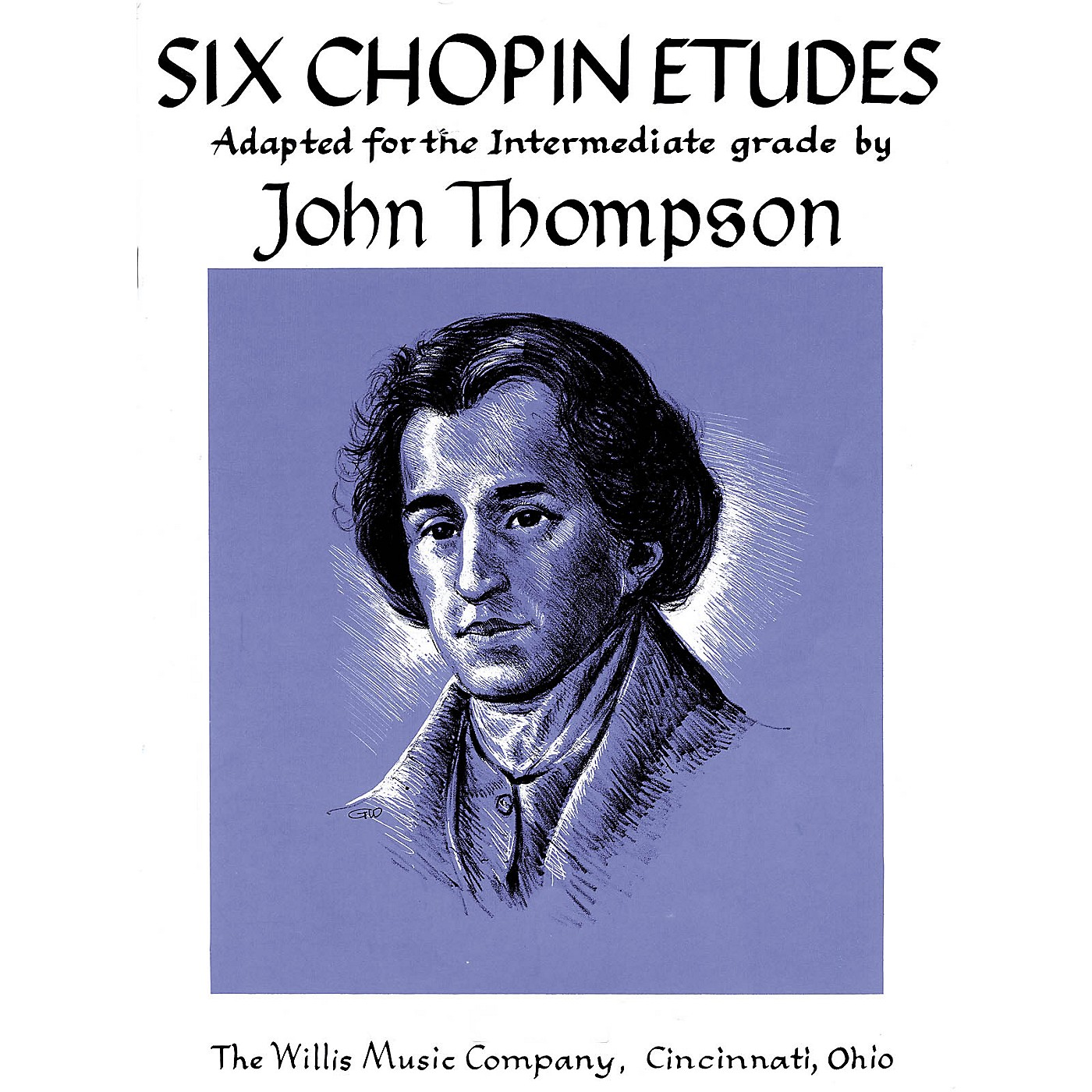 Willis Music Six Chopin Etudes (Early Advanced Level) Willis Series by Frederic Chopin thumbnail