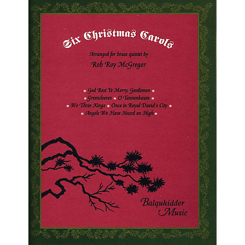 Carl Fischer Six Christmas Carols Book-thumbnail
