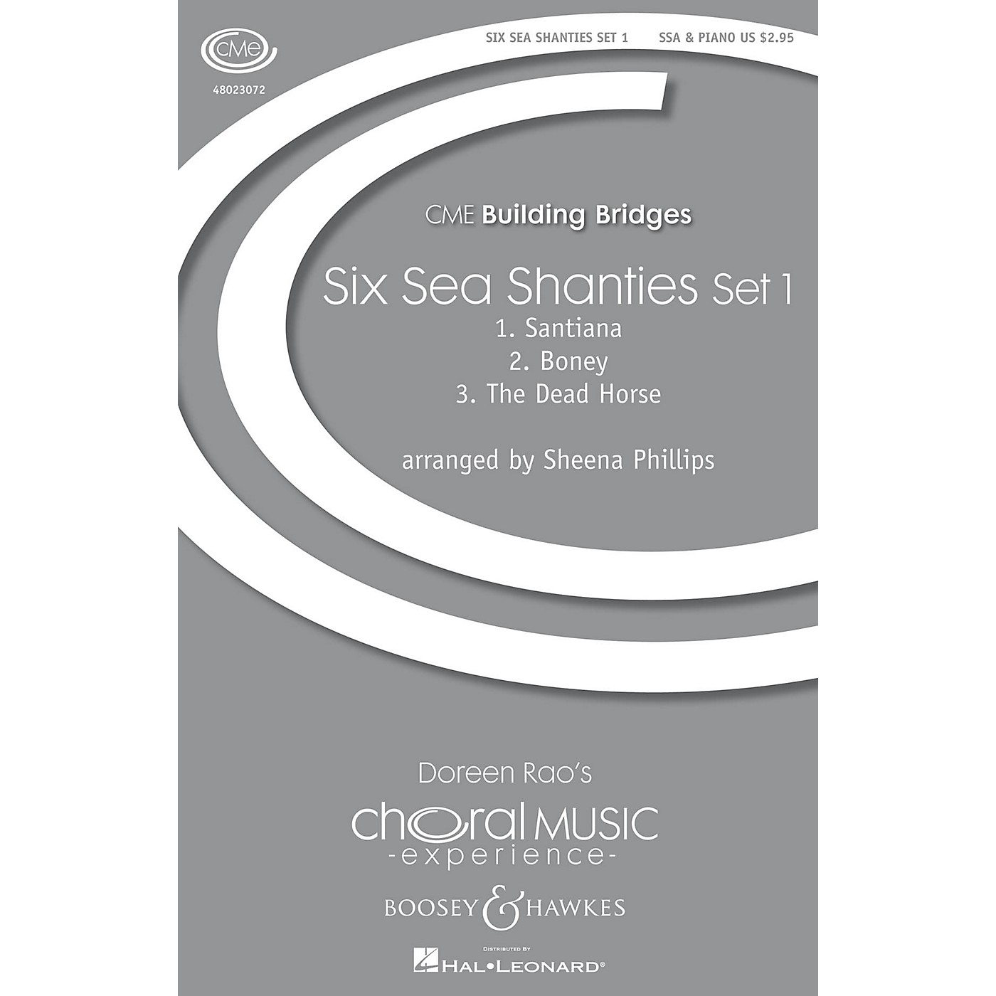 Boosey and Hawkes Six Sea Shanties Set 1 (CME Building Bridges) SSA arranged by Sheena Phillips thumbnail