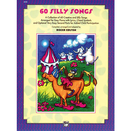 Alfred Sixty Silly Songs Book/CD thumbnail