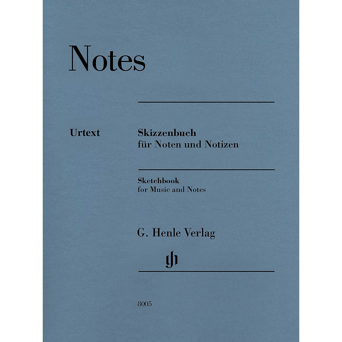 G. Henle Verlag Sketchbook (for Music and Notes) Henle Music Folios Series Softcover thumbnail