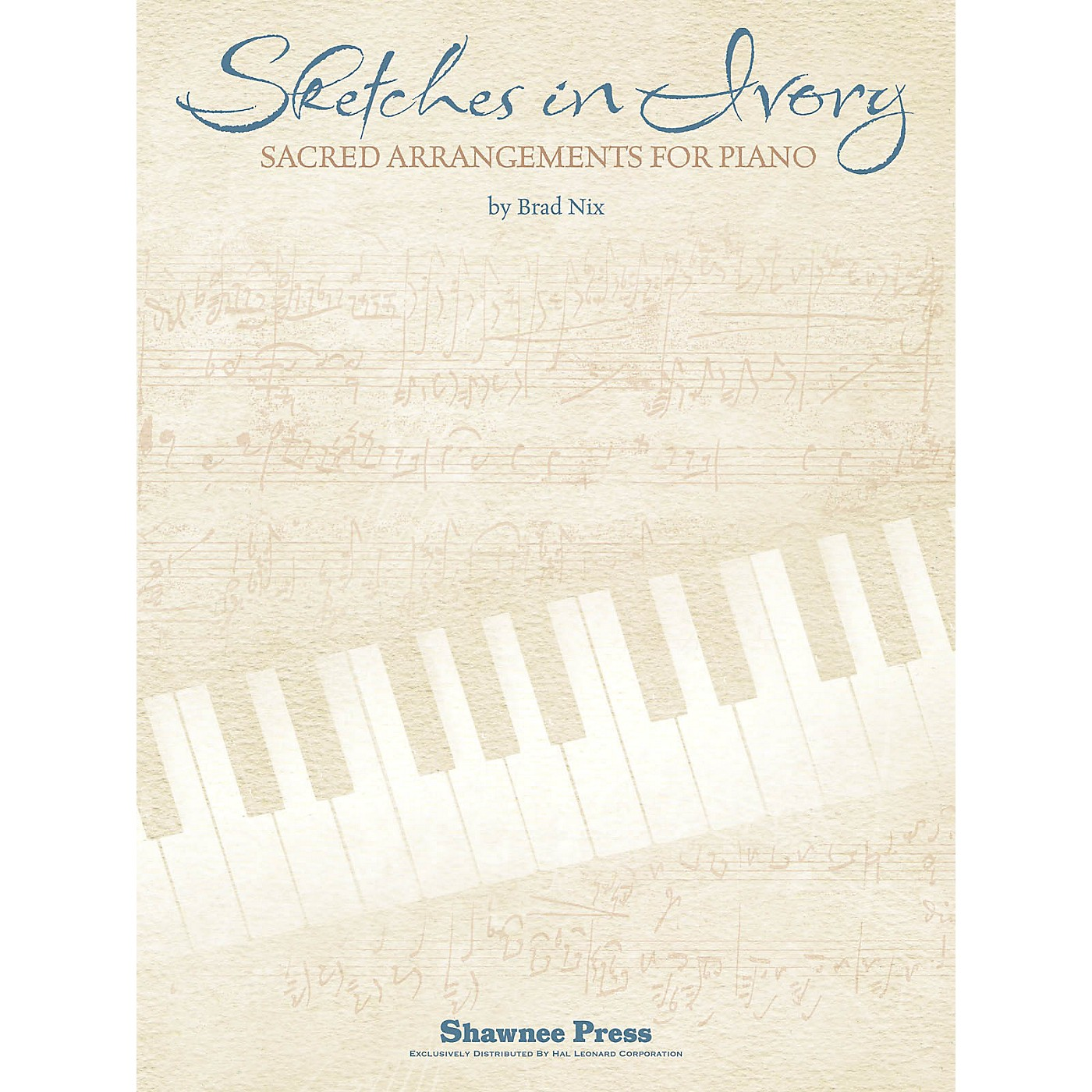 Shawnee Press Sketches in Ivory (Companion CD to the Songbook) Composed by Brad Nix thumbnail