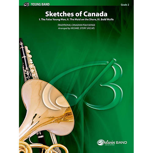 BELWIN Sketches of Canada Concert Band Grade 2 (Easy) thumbnail