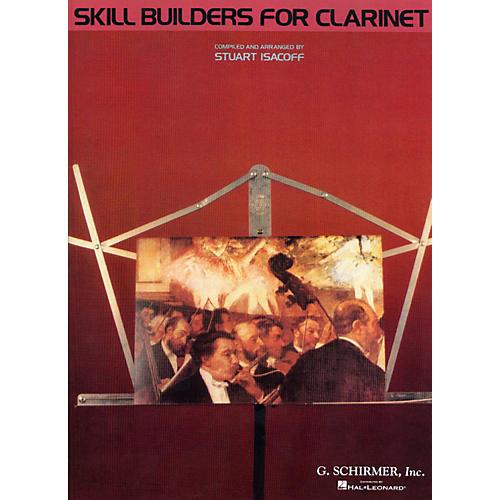 G. Schirmer Skill Builders for Clarinet (Clarinet) thumbnail